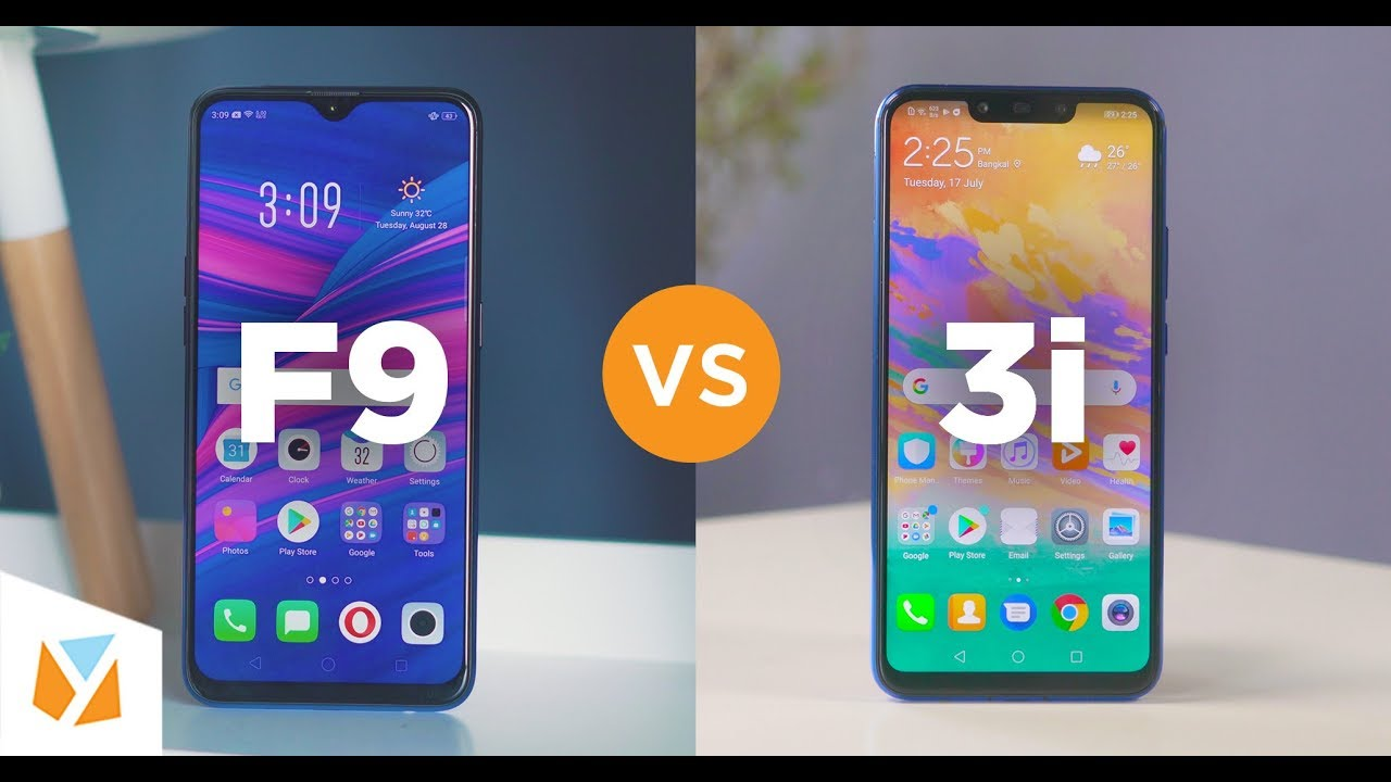 Oppo F9 Vs Huawei Nova 3i Comparison Review Youtube