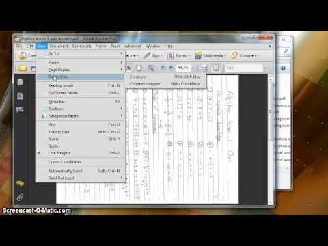 How To Rotate PDF Files