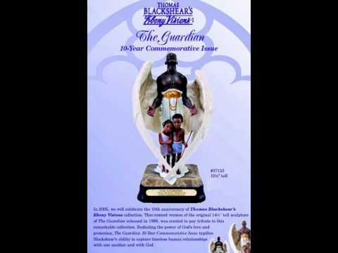 The Guardian By Thomas Blackshear-African Imports-Black Figurines-Black Art-african American Art