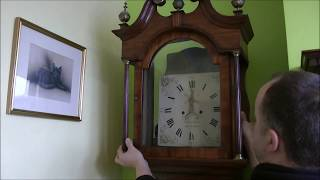 Georgian Longcase Clock And Beer