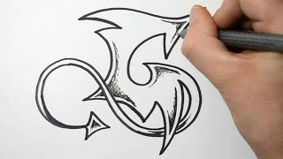 How to Draw Graffiti - Letter G