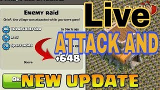 #day 1 Farming [[ Clash of Clans Stream ]] Live attack and base review