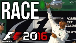 F1 2016 CAREER MODE PART 2 - RACE TIME (F1 2016 Gameplay PS4/Xbox One)