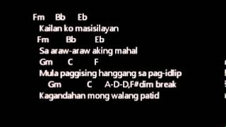 ERASERHEADS - KAILAN lyrics w/ guitar chords