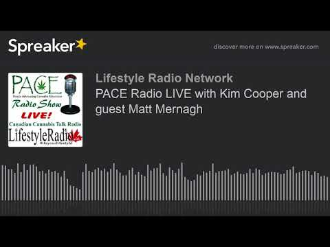 PACE Radio LIVE with Kim Cooper and guest Matt Mernagh