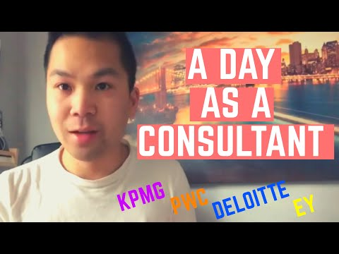 A Day In My Life As A Consultant (Working From Home!) | Big 4 Advisory Consulting