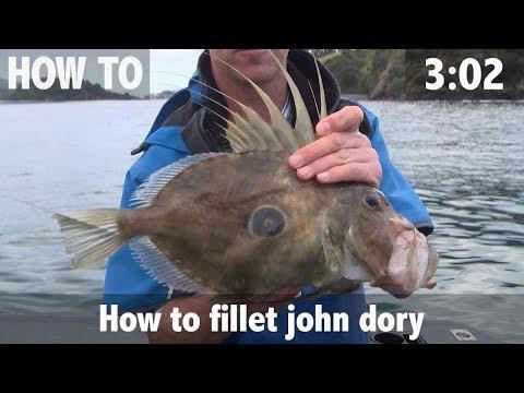 How To Fillet John Dory