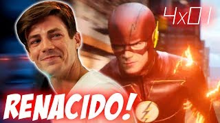 The Flash 4x01 Review & Easter Eggs THE THINKER DEBUT! The Flash Reborn Temporada 4 Episodio 1