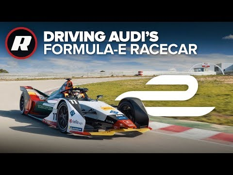 Driving Audi's 2019 Formula E car | Behind the wheel
