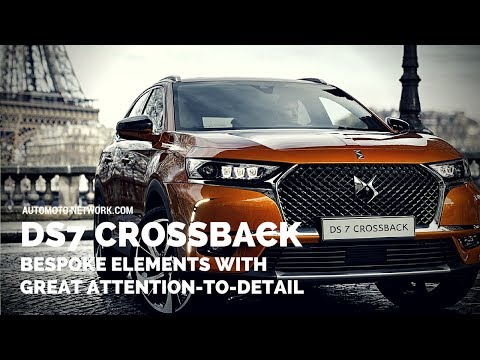 2018 Presidential DS7 Crossback | Features & Design Work.