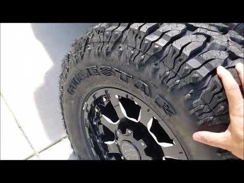 Milestar Patagonia M//T Mud-Terrain Radial Tire LT265//75R16 123Q