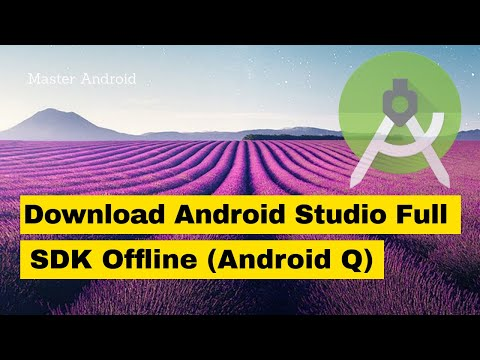 How To Download & Install Android Studio With SDK Offline 2019 (Android Q) - No Need To Wait Hours