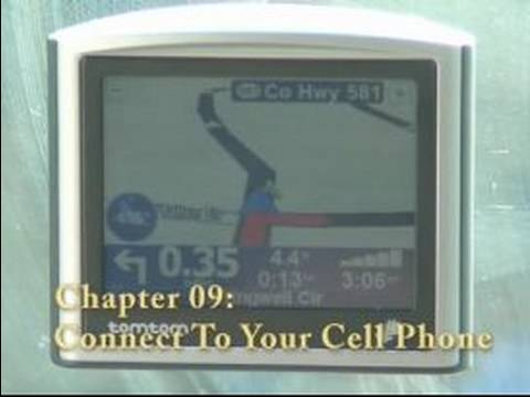 How to Use a GPS Navigation System : How to Connect Cell Phone to GPS System