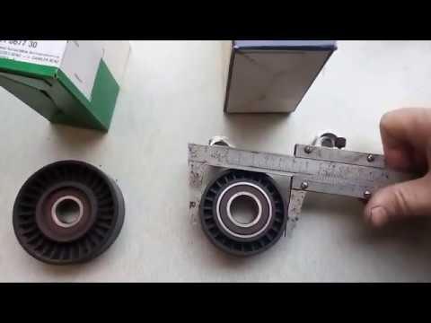 Замена обводного ремня и роликов Mercedes A170 CDI W168