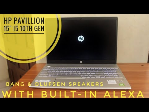 HP Pavilion 15-cs3006tx | With Alexa | Bang & Olufsen | Unboxing | Best laptop for YouTube editors