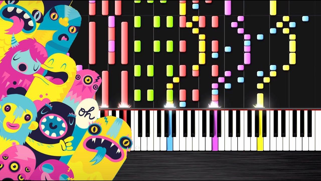 Partition piano omfg hello