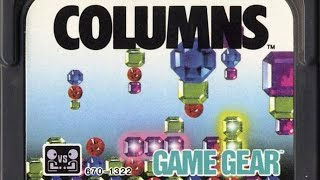 CGR Undertow - COLUMNS review for Game Gear