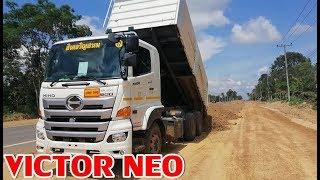 hino-victor-neo-344-ลากพ่วงเทลูกรัง