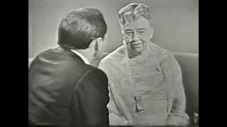 VINTAGE 1959 TV SHOW CLIP - ELEANOR ROOSEVELT & FRANK SINATRA (ELEANOR RECITING A HOPEFUL MESSAGE)