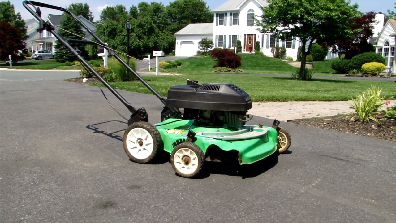 Lawn Boy Silver Series 10227 4 5 Hp 2 Stroke Push Mower