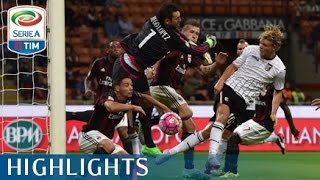 Video Gol Pertandingan AC Milan vs Palermo
