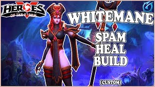 Grubby   Heroes of the Storm - Whitemane - Spam Heal Build - Custom - Tomb of the Spider Queen