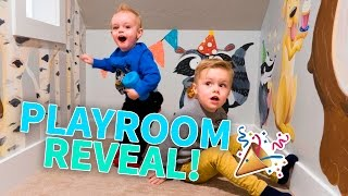 REMODELED PLAYROOM REVEAL!