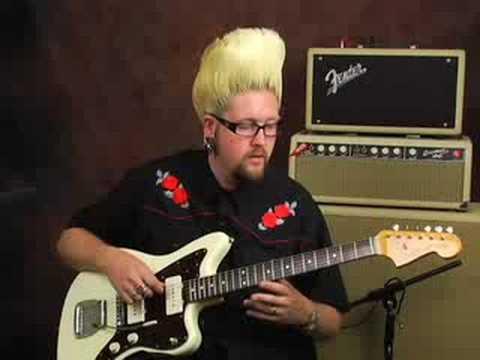 Surf Guitar review Fender Jazzmaster Elvis Costello fame