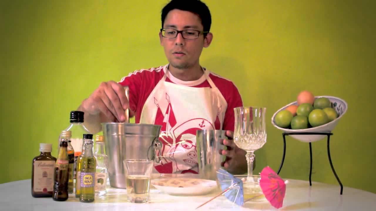 Como se hace un pisco sour con s para 6 personas for Como se elabora un vivero
