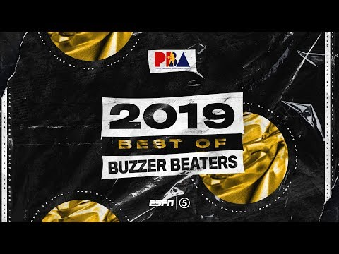PBA 2019 Best Of Buzzer Beaters