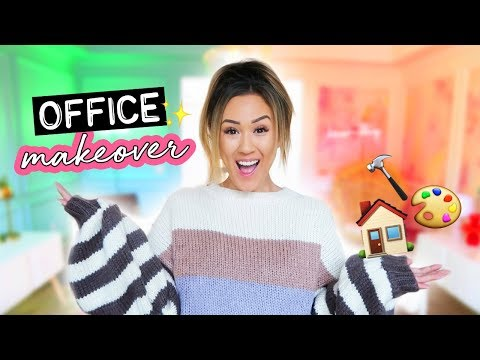 Mr. Kate Split Office MAKEOVER & Tour!
