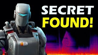 SECRET A.I.M LOGO FOUND IN SNOW STORM! FORTNITE STORYLINE EVENT!