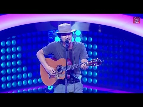 The Voice Thailand - ชาติ สุชาติ - ตัดใจ - 14 Sep 2014