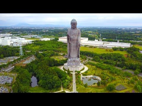 VISITING THE TALLEST BUDDHIST STATUE IN JAPAN! |Ibaraki Japan