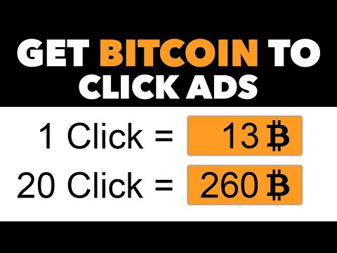 Get Paid In BITCOIN To Click On Websites ($13.66 Per Click) | Earn Free Bitcoin