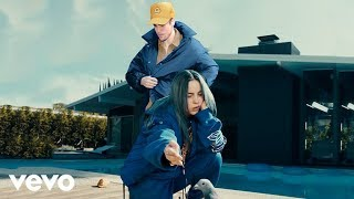 Cover images Billie Eilish - bad guy (with Justin Bieber) [Official Music Video]