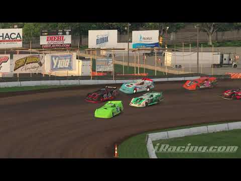 iRacing: another fun race @Lernerville speedway