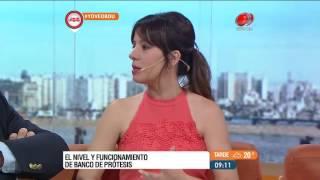 Buen día Uruguay - Banco de prótesis 08 de Noviembre de 2016