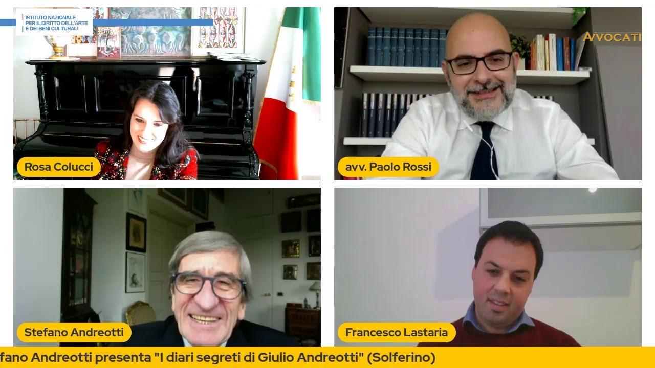 """""""I diari segreti di Giulio Andreotti"""" - Ospite in studio, Stefano Andreotti"""
