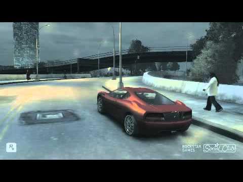 GTA 4 loqueando por la ciudad de nueva york