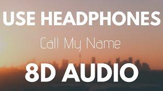 ANTHR BØY & Night Prayers -  Call My Name ft. Vicky Bravo (8D AUDIO)