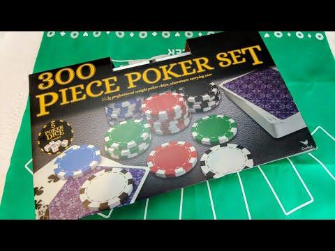 Большой Набор для Покера 300 Фишек Карты Кубики в Кейсе 2020 (Poker Set)