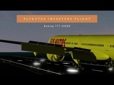 FlyKutos | Boeing 777-300ER | Investors Flight