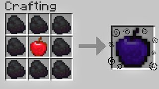 Minecraft UHC but you can craft GOD APPLES with any item you want...