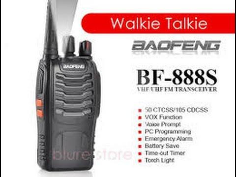 Programming the BaoFeng BF-888S Radio using CHIRP