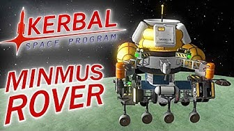 KERBAL SPACE PROGRAM MINMUS ROVER & SATELLIT Kerbal Space Program Deutsch German Gameplay