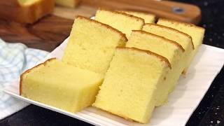 牛油蛋糕~糖油搅拌法 Butter Cake  Kek Mentega