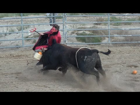 Insane Bull Fight Challenge: Jaw Broken!!!