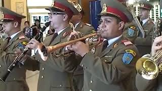 "Flash mob - 4th Infantry Division ""Gemina"" Military Band #203"