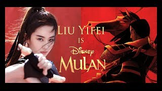 Disney's Mulan Live-Action Cast: Liu Yifei